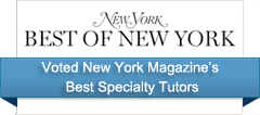 Voted New York Magazine's Best Specialty Tutors